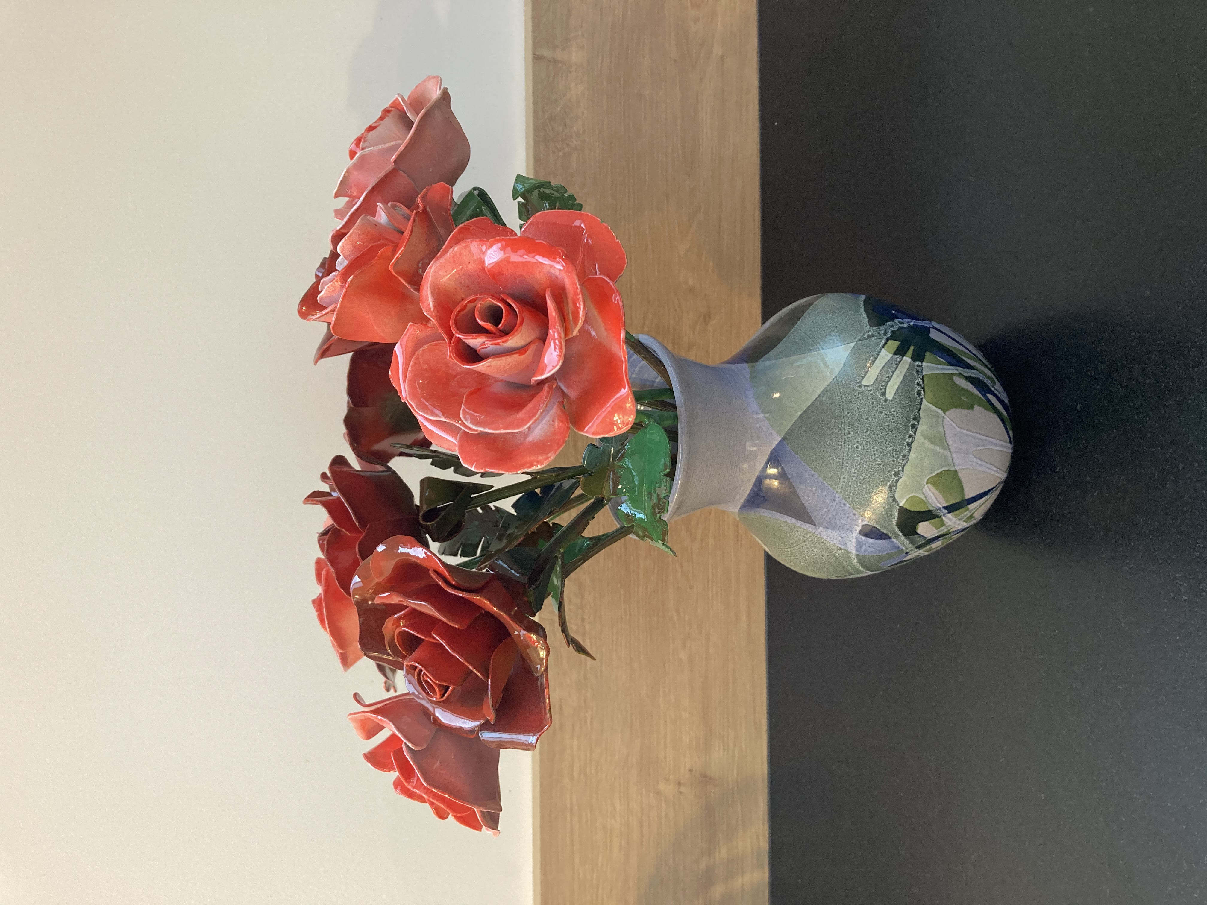 """""""Roses rouges et roses"""" - n°411"""