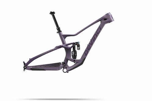 2021 Devinci Troy Carbon Frame Ghost Purple Matte