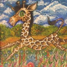 Short necked giraffe