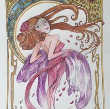 Art Nouveau 'Gloria'