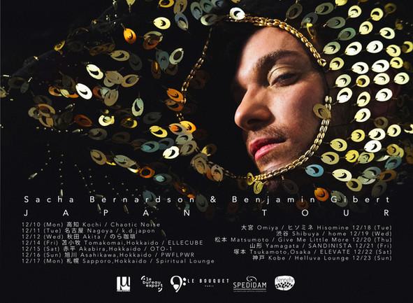 Sacha Bernardson Japan tour Poster