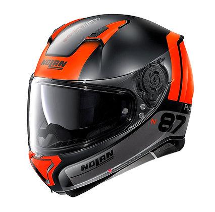 Nolan N87 Plus Distinctive N-Com Flat Black 25