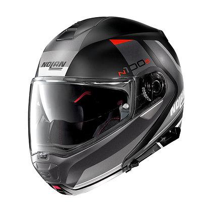 Nolan N100-5 Hilltop N-Com Flat Black 47
