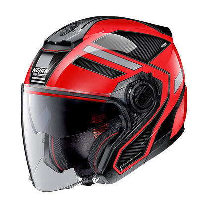 Nolan N40-5 Beltway N-Com Corsa Red 22