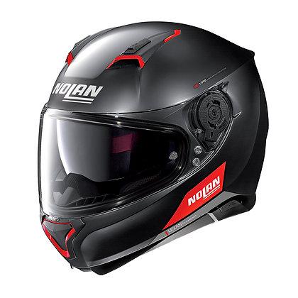 Nolan N87 Emblema N-Com Flat Black 73