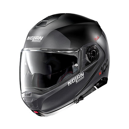 Nolan N100-5 Plus Destinctive N-Com Flat Black 21