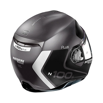 Nolan N100-5 Plus Destinctive N-Com Flat Lava Grey 23