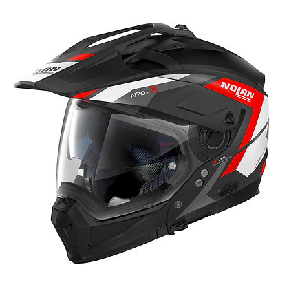 Nolan N70-2 X Grandes Alpes N-Com Flat Black 20