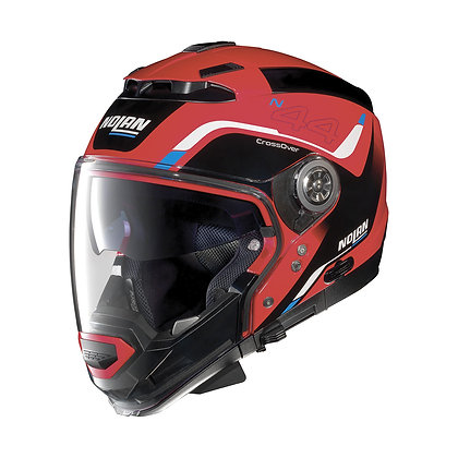 Nolan N44 EVO Viewpoint N-Com Corsa Red 46
