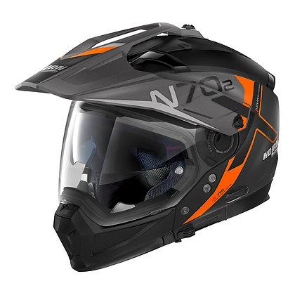 Nolan N70-2 X Bungee N-Com Flat Black 37