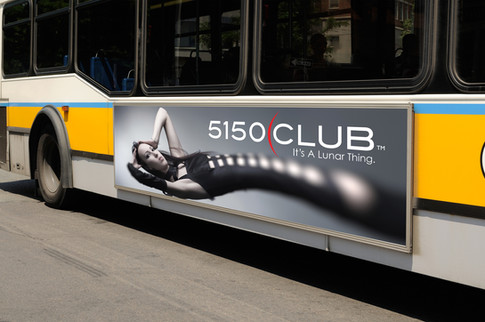 Transit bus billboard