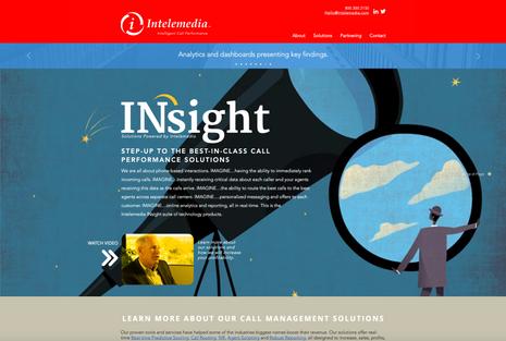 Intelemedia corporate website