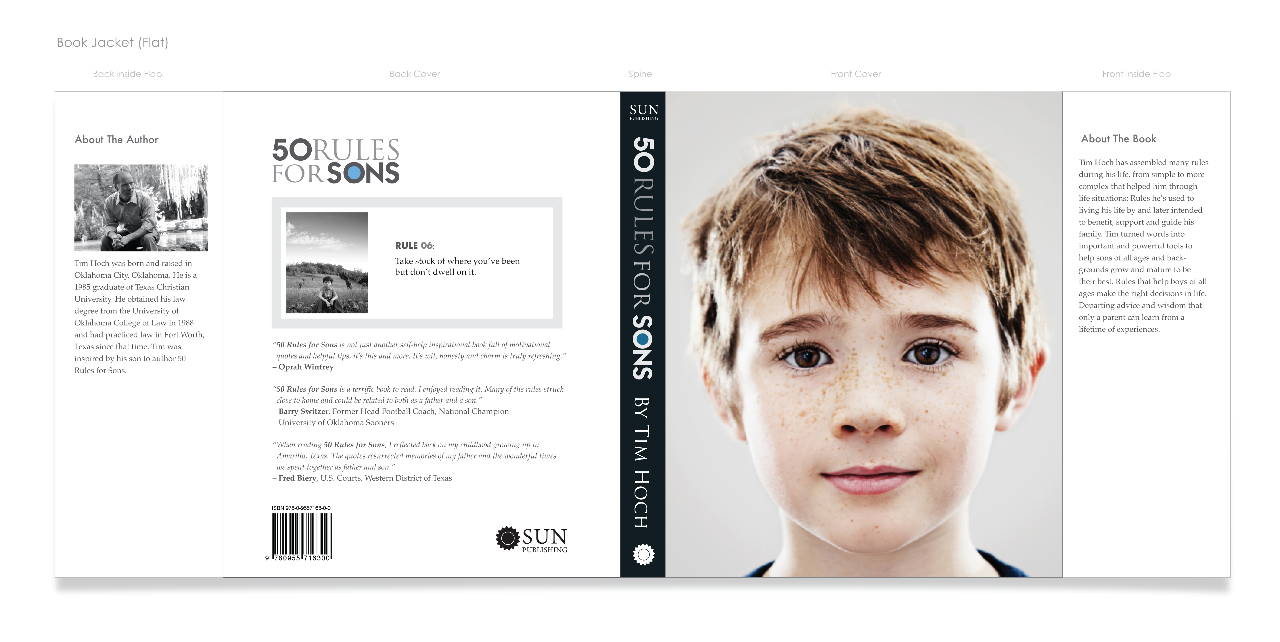 50 Rules For Sons – Book Jacket