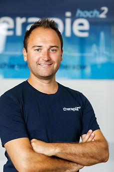 Dominik Riener, Physiotherapeut, Osteopath, Sporttherapeut