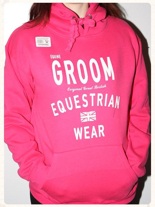 Equestrian Themed Printed Premium Hoody (Groom)