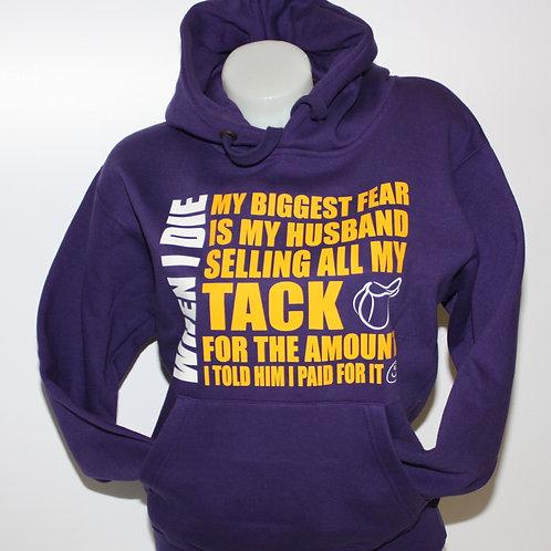Archers Premium Hooded Sweatshirt - MY BIGGEST FEAR