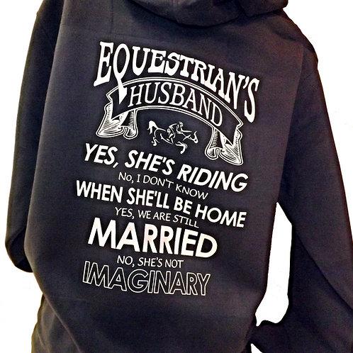 Ultra Premium Hoody - Equestrian's Husband