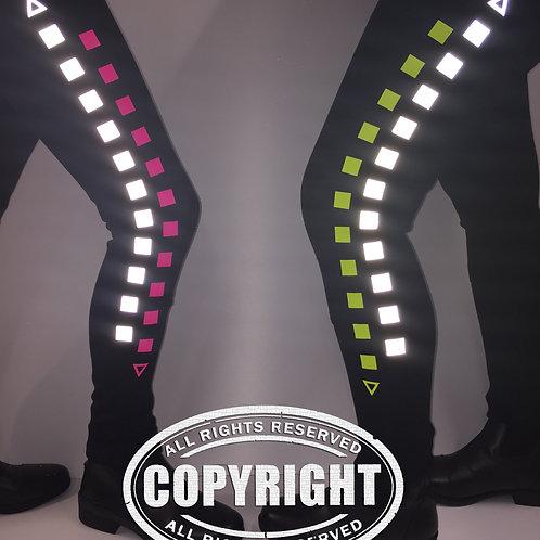 Adults Reflective & Fluorescent 'BE SEEN' Jodhpurs