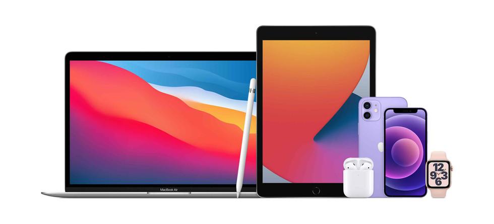Multi-Product_MacBook_Air_Apple_Pencil_iPad_AirPods_iPhone_12_iPhone_12_mini_Apple_Watch_S