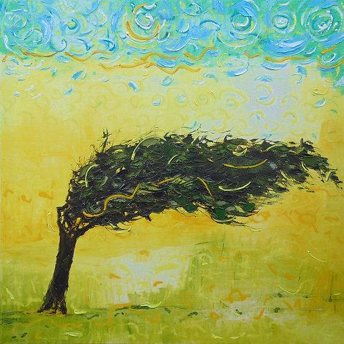 Дерево пустыни 90х90 см