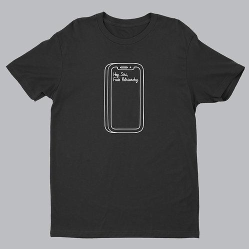 Hey Siri Black Tshirt