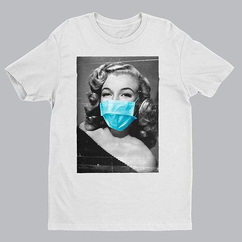 Marilyn Monroe White Tshirt