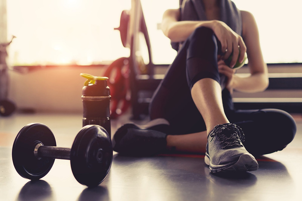 intervals during workout