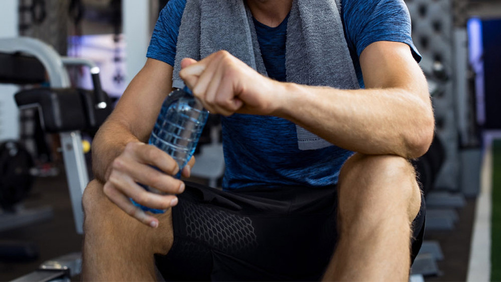 drink water during workout