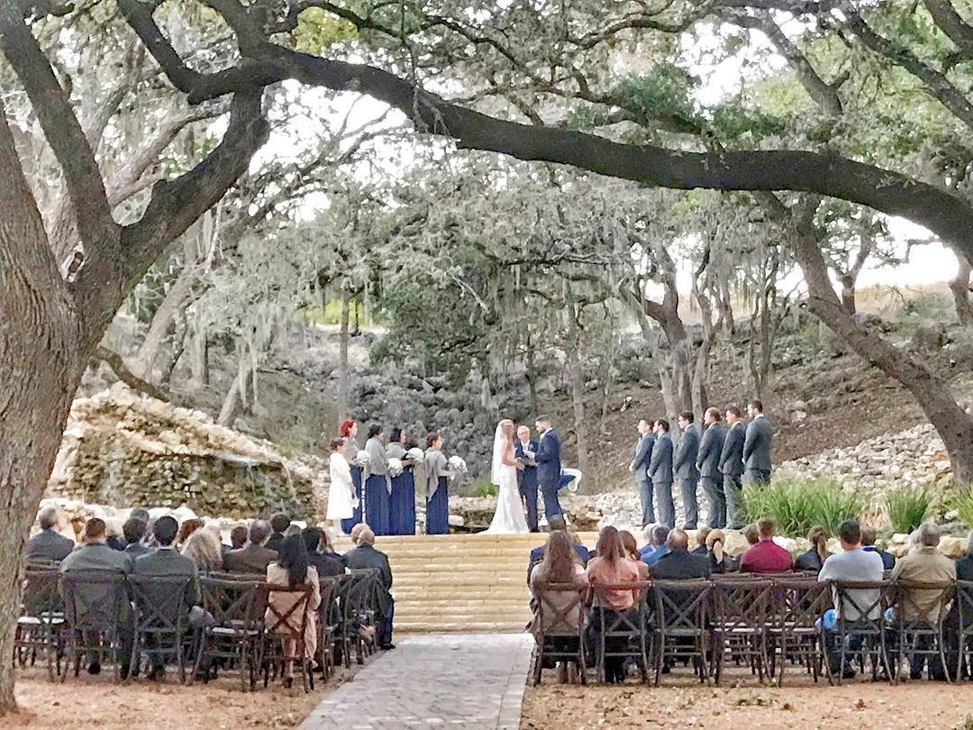 Tree canopy ceremony