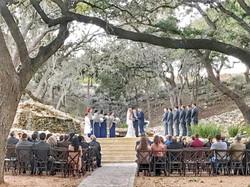 Tree canopy ceremony