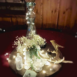 Antique Glass & Fairy Lights
