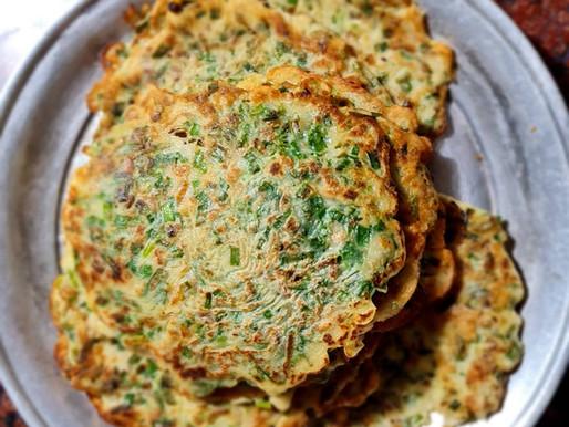 Chives Omelette