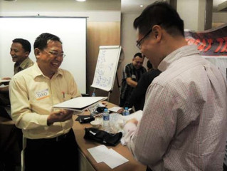 "Reportase Program Sertifikasi Trainer ""Essential Licensed Trainer GREAT TRAINER IN ACTION"" ank. XV,"
