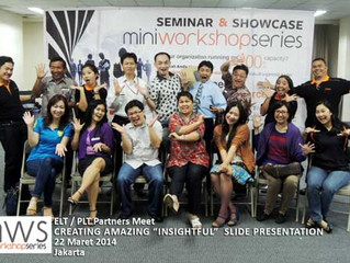 "ELT-PLT gathering MWS Indonesia ""Insightfull Presentation"", Maret 2014"