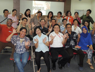 "MWS Indonesia ELT & PLT Partner Meeting, ""Modeling Anthony Robbins"", 02 November 2013 di The Bou"