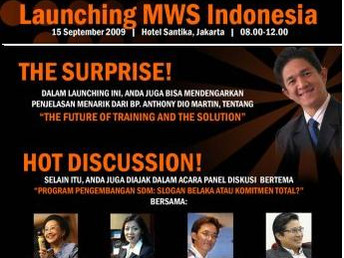 MWS Indonesia Launch 2009