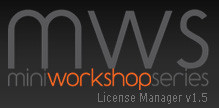 Update – MWS License Manager V1.5