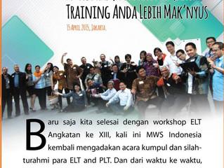 """Reportase """"Psikodrama untuk Membuat Training Anda Lebih Mak'nyus"""" 15 April 2015"""
