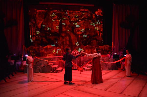 White Snake and Xu Xian Wedding