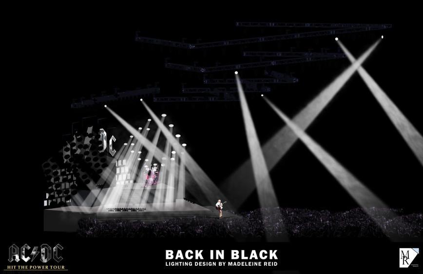 BACK IN BLACK RENDERING