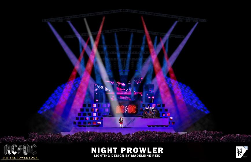 NIGHT PROWLER RENDERING