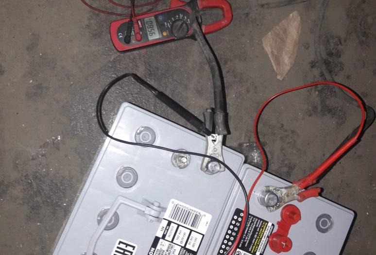 Диагностика тягового аккумулятора 48В