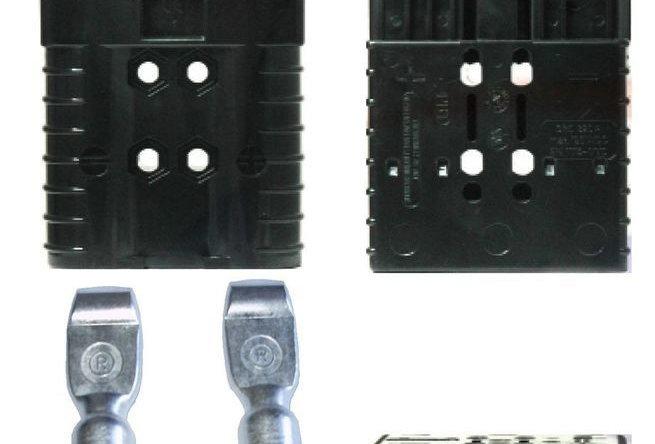 Разъем REMA  SRE 320A чёрный/серый/красный/синий