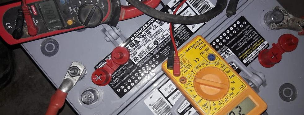 Диагностика зарядного устройства