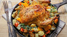 Fitness Food Friday: Roast Chicken with Root Vegetables