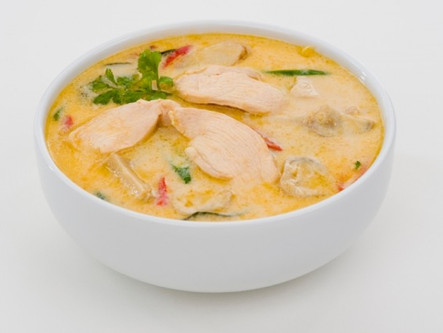 Fitness Food Friday: Thai Coconut Chicken Soup