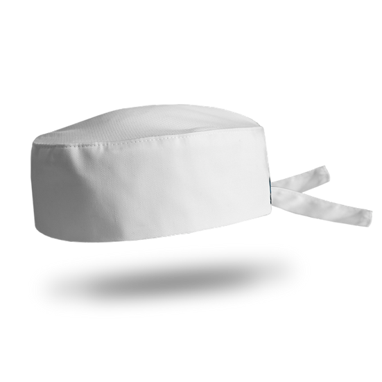 Beanie Wrap - White