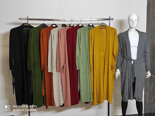 Piliseli Geniş Kalıp Ceket