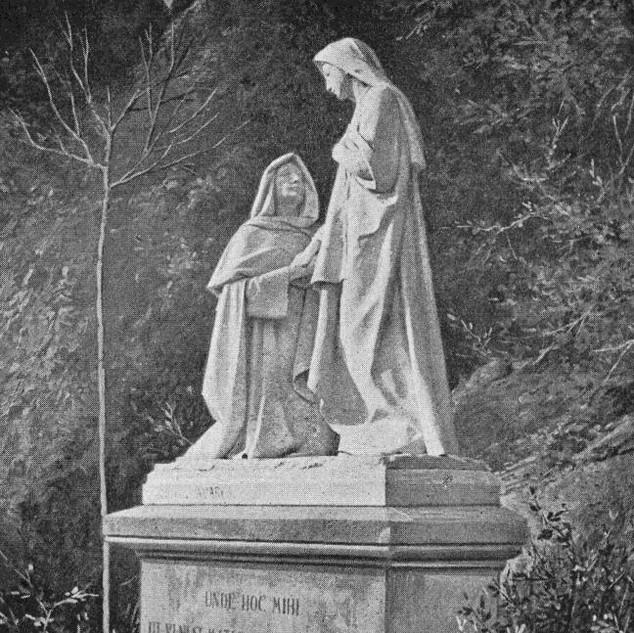 Misteri de la Visitació del Rosari Monumental de Montserrat