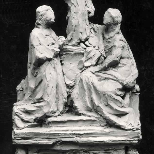 Projecte d'altar amb la Sagrada Família